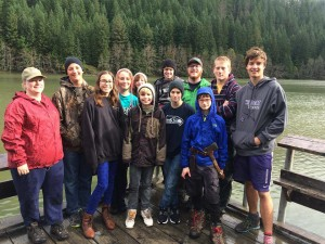Pursuit youth camping trip october 2014