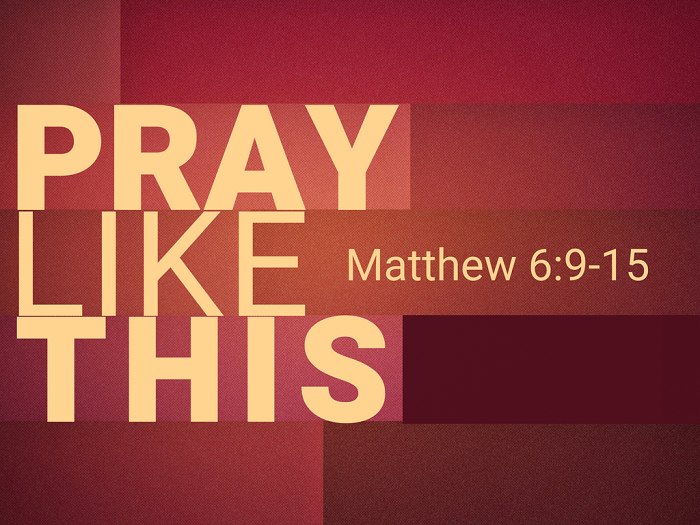 pray like this  petition  give us today our daily bread